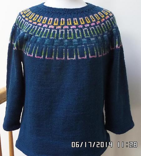 7/01/14: Summer stitching in high gear.